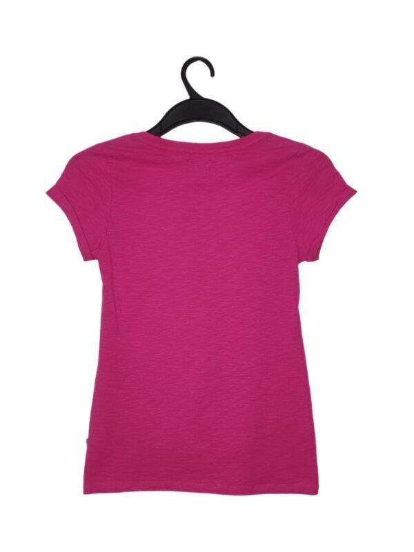 """Różowa bluzka z czarnym brokatowym napisem """"GIRLS NIGHT IN"""""""